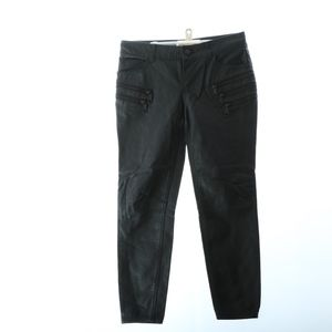 Free People Womens Pants 2 Biker Leather